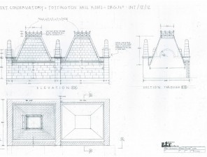 Exterior-Tottington-Hall-Rooftops-Drawing-5