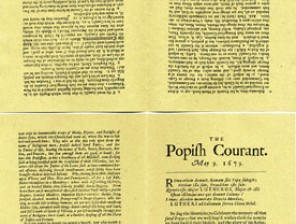 Newspapers-Popish-Courant